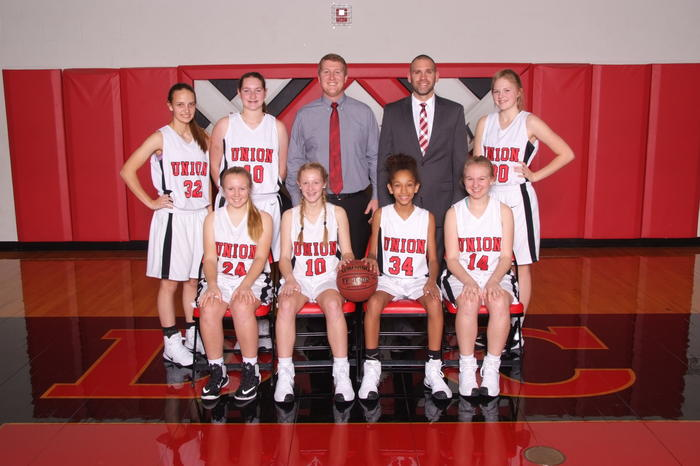 JV Girls Basketball 2016-17